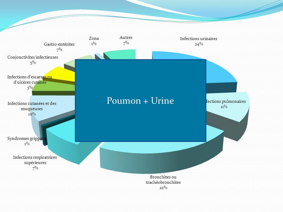 Poumon + Urine
