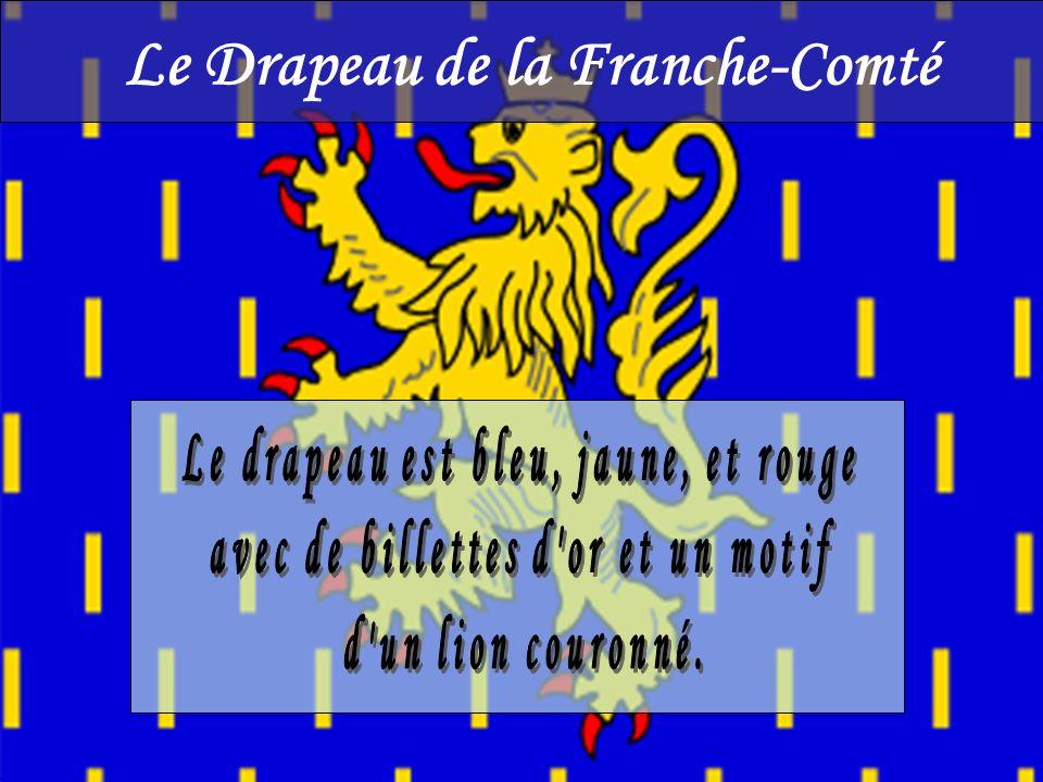 Le Drapeau de la Franche-Comté