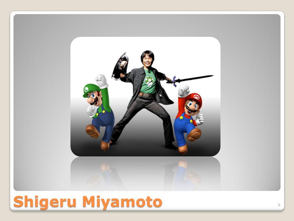 Shigeru Miyamoto 9