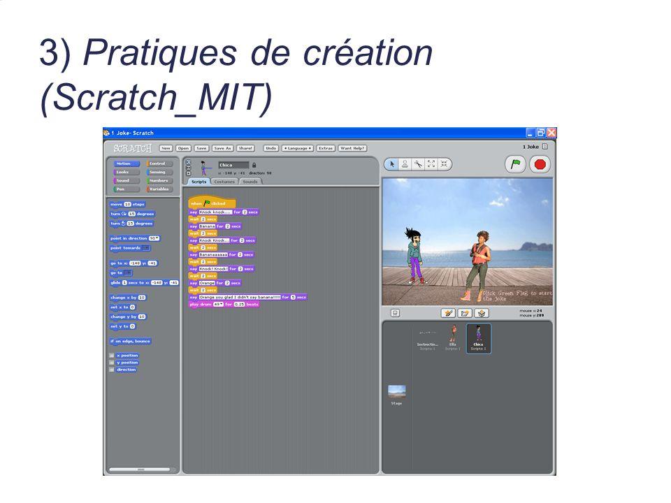 3) Pratiques de création (Scratch_MIT)