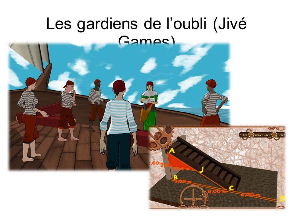 Les gardiens de loubli (Jivé Games)