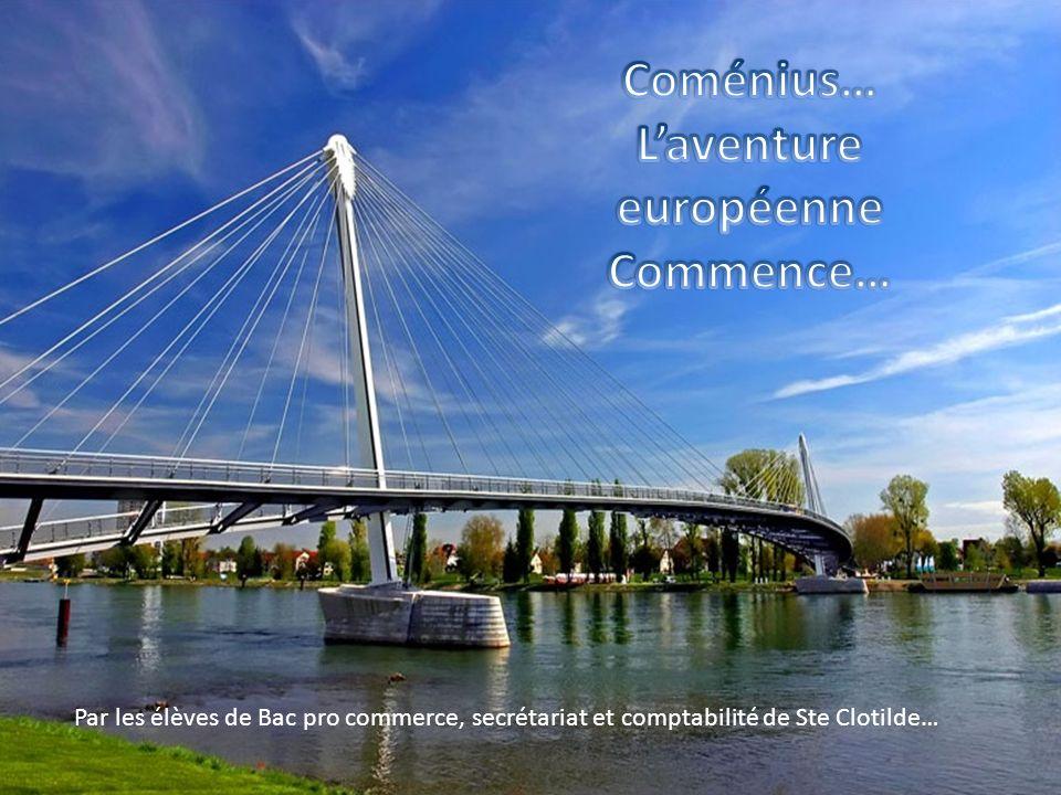 …Rencontre avec les élèves du Luxembourg et de la Belgique… …pour écrire une nouvelle page de notre Histoire… 8 mars 2013 Ste Clotilde
