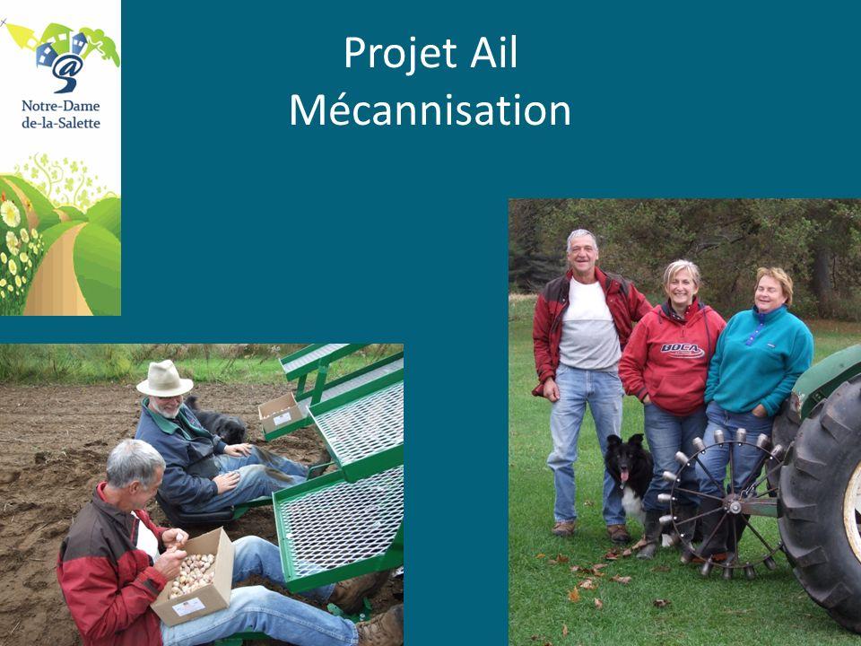 Projet Ail Mécannisation