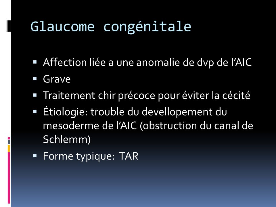 PEC Chirurgie filtrante (trabéculectomie) si persistance de lHTO