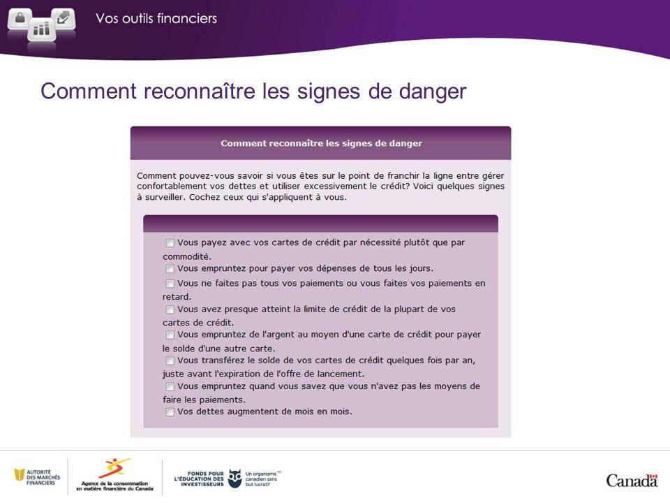 Comment reconnaître les signes de danger