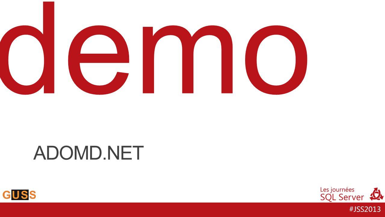 #JSS2013 demo ADOMD.NET