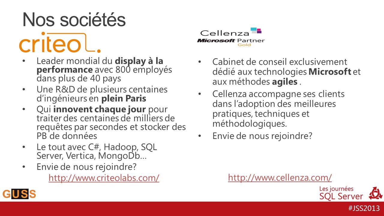 #JSS2013 Leader mondial du display à la performance avec 800 employés dans plus de 40 pays Une R&D de plusieurs centaines dingénieurs en plein Paris Q