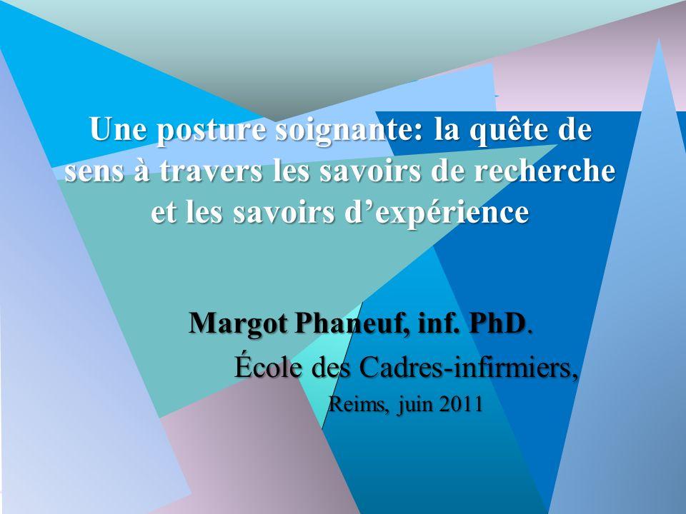Margot Phaneuf, Inf.