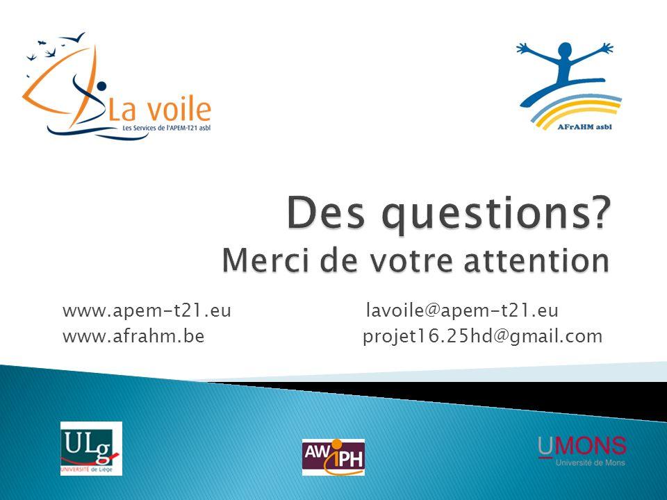 www.apem-t21.eu lavoile@apem-t21.eu www.afrahm.be projet16.25hd@gmail.com