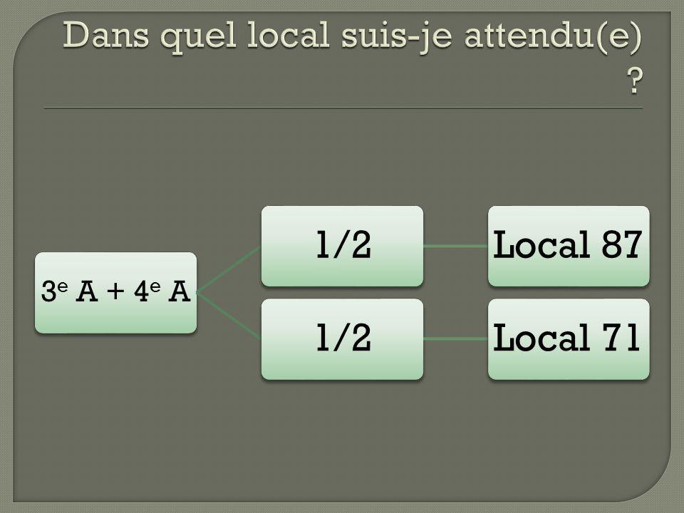 3 e A + 4 e A 1/2Local 871/2Local 71