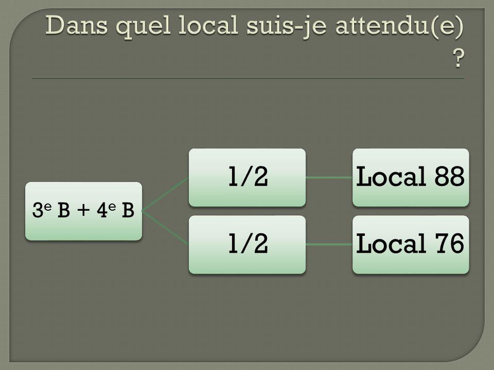 3 e B + 4 e B 1/2Local 881/2Local 76