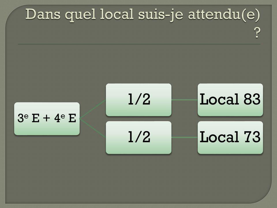 3 e E + 4 e E 1/2Local 831/2Local 73