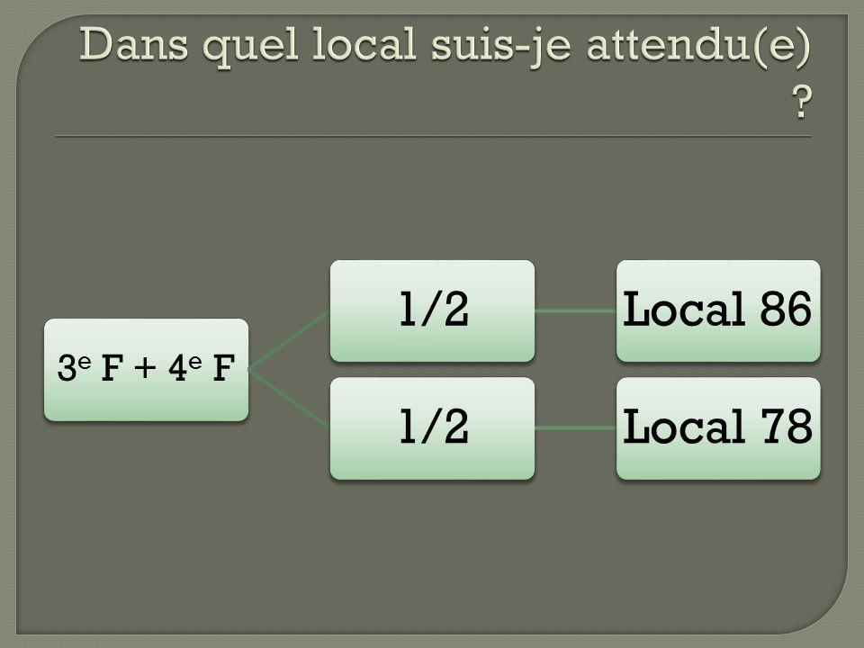 3 e F + 4 e F 1/2Local 861/2Local 78