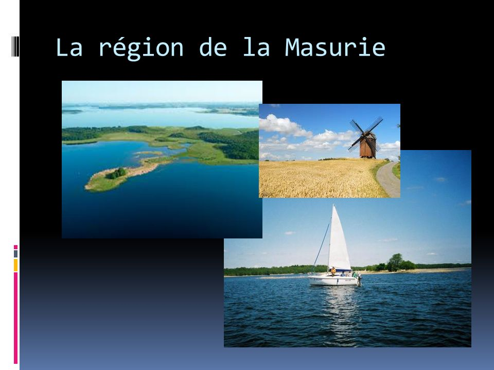 La région de la Masurie