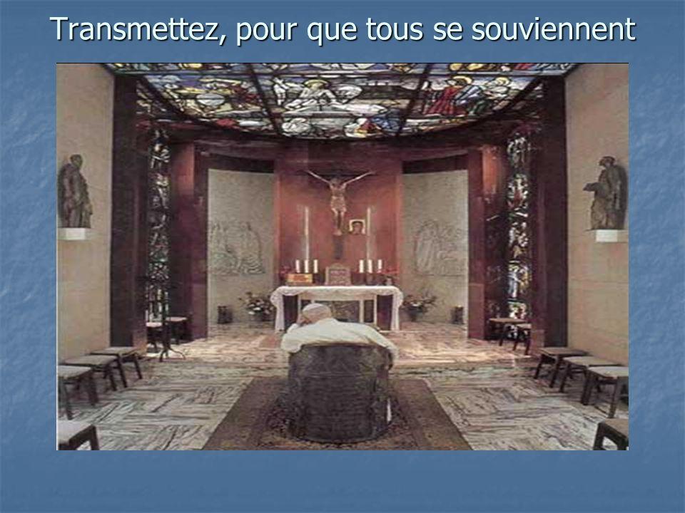 Jean Paul II 3 e Anniversaire de sa rencontre avec Dieu (Avril 2005)