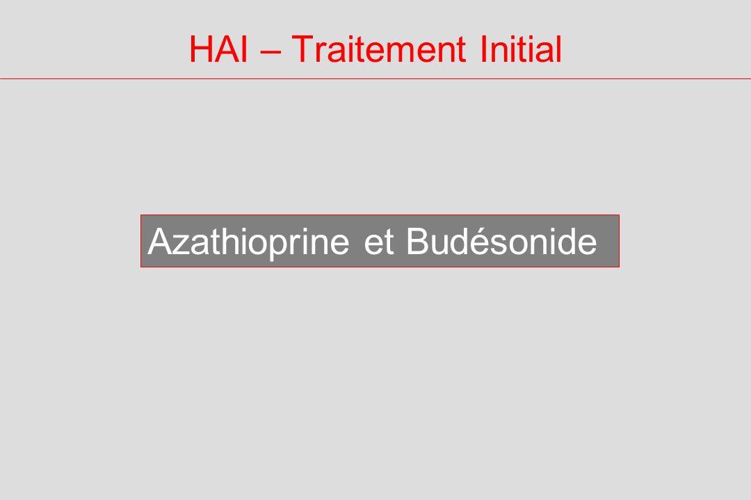 HAI – Traitement Initial Azathioprine et Budésonide