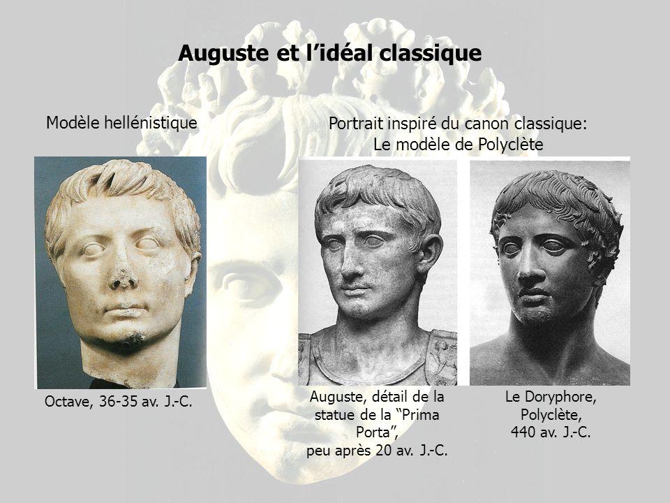 LAuguste de la Prima Porta Auguste de la Prima Porta, vers 20 av. J.-C.
