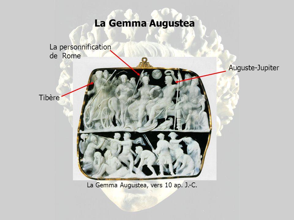 Buste dAuguste avec la corona civica, début du premier siècle ap.