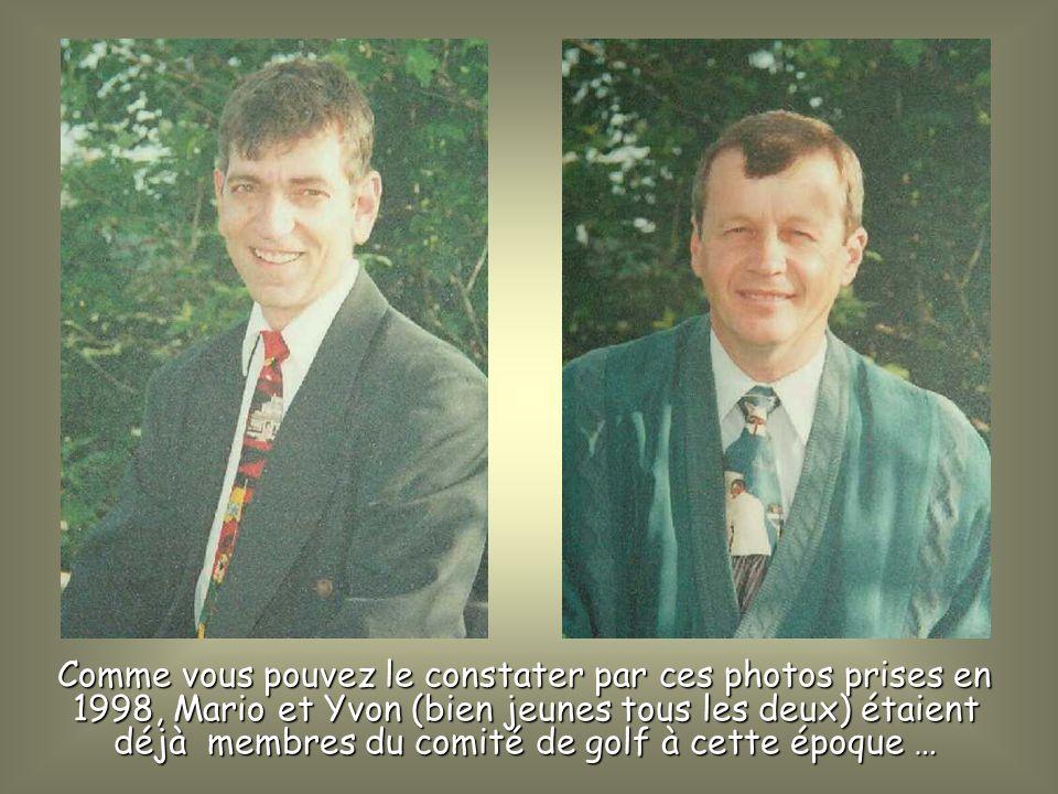 Permettez-moi de rendre hommage à deux gars formidables que jai appris à connaître et eu le plaisir de côtoyer depuis que je fais partie du comité du