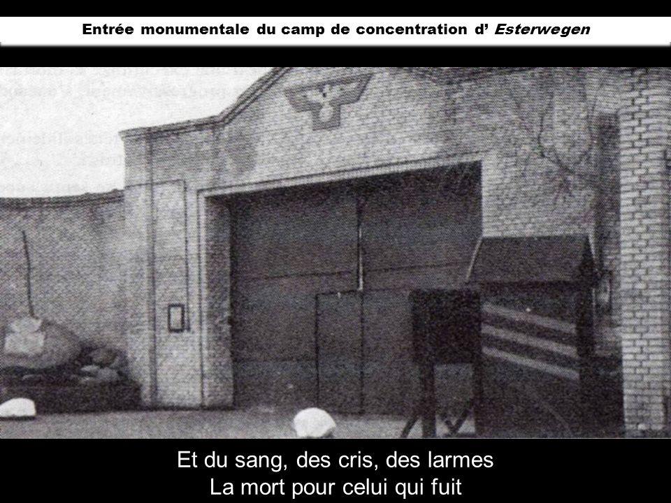 En 1933 à Börgermoor un prisonnier politique crée le chant «Börgermoorlied » qui, plus tard deviendra « Die Moorsoldaten» en français ; «Le Chant des
