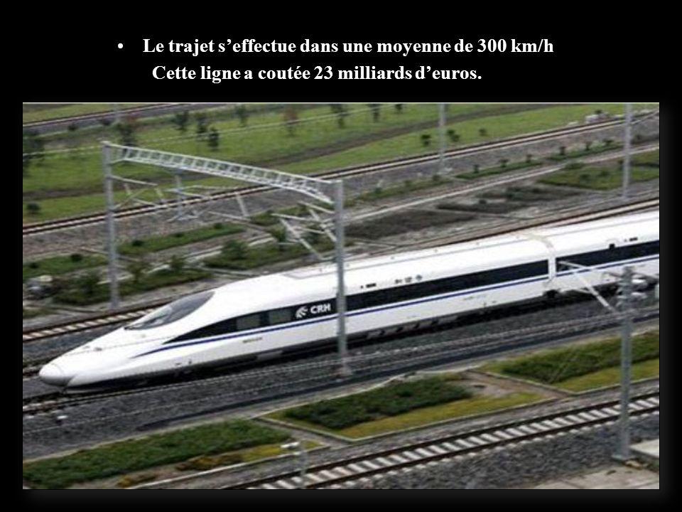 un record mondial dans sa longueur de 1 318 kilomètres pour relier Pékin et Shanghai, les deux plus grandes zones économiques de la Chine.