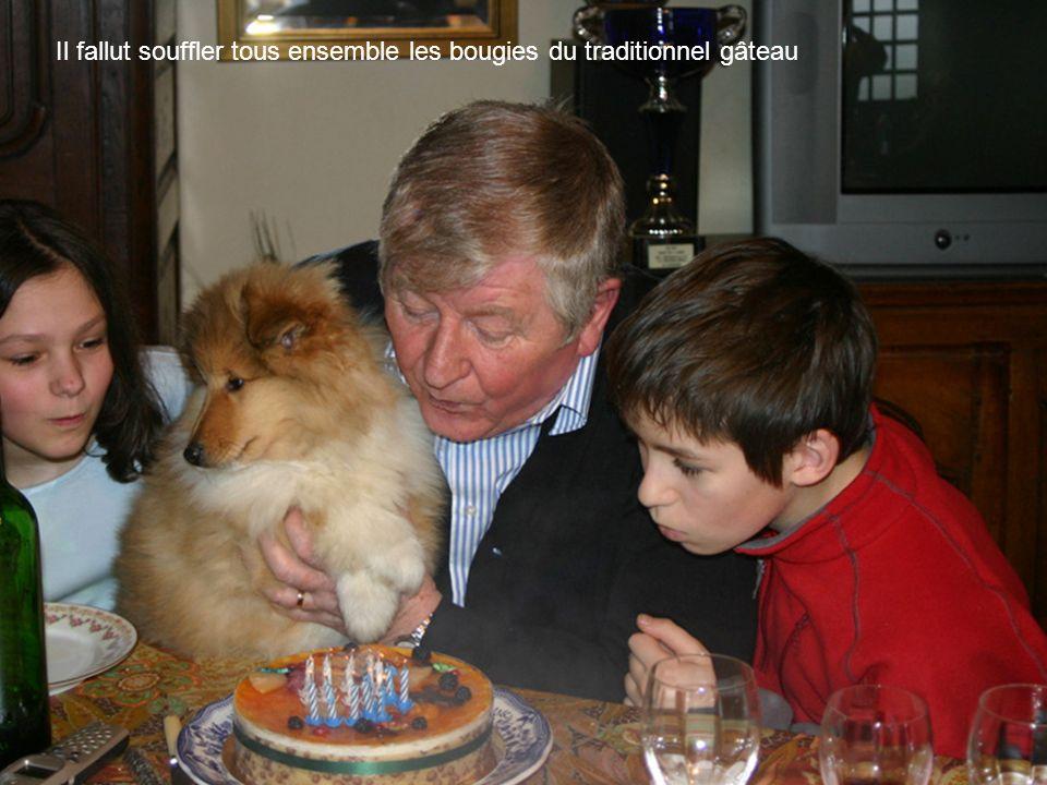 Séquence émotion: toute la famille et quelques amis avaient comploté avec Béa pour réussir la douce et merveilleuse surprise !!!!