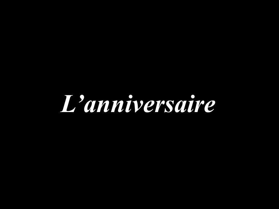 Lanniversaire