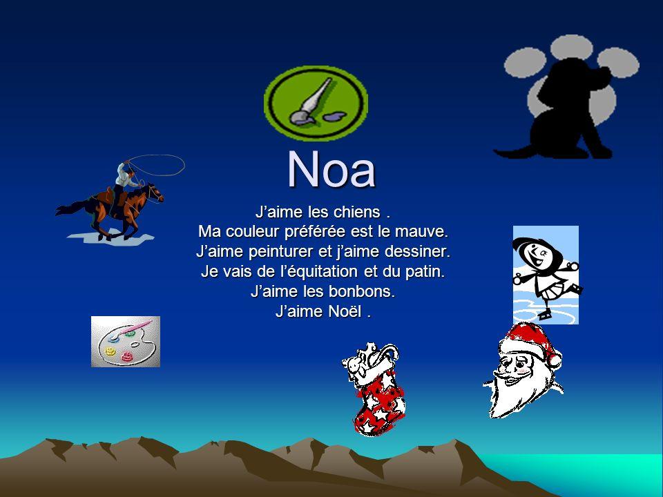 Nicola Viau Jaime lécole avec des amis et les animations.