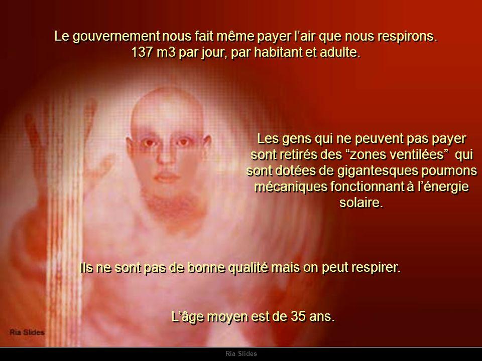 Ria Slides Le gouvernement nous fait même payer lair que nous respirons.
