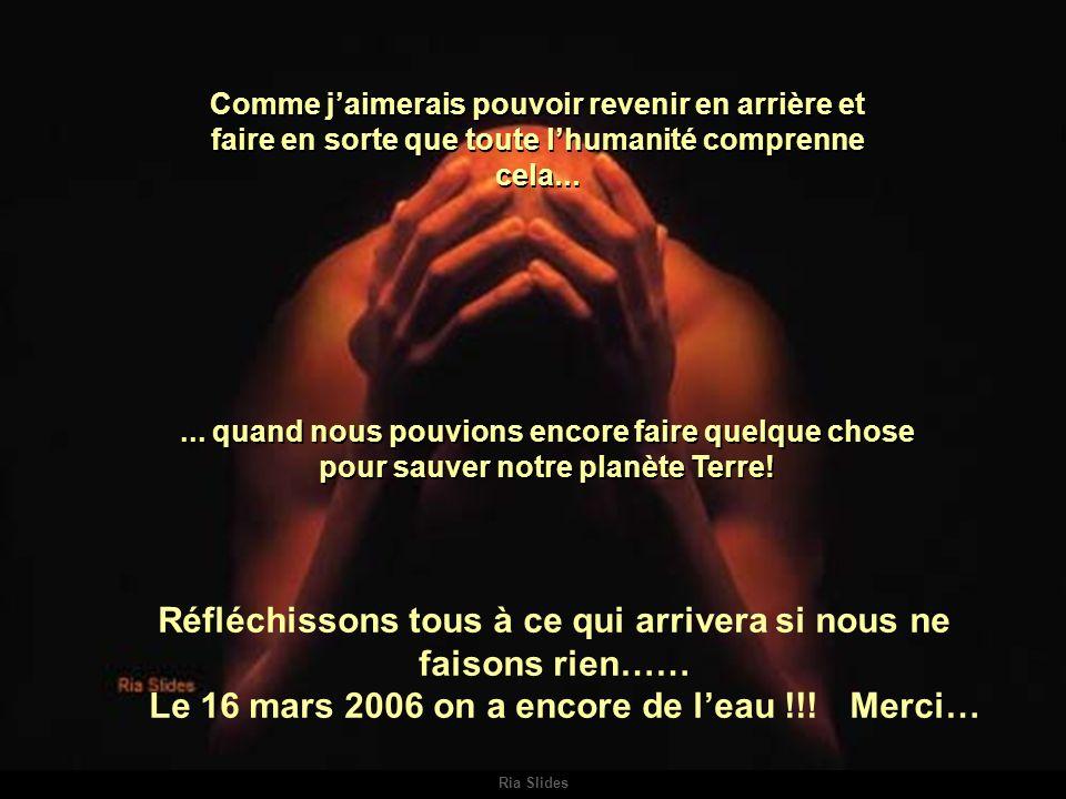 Ria Slides Comme jaimerais pouvoir revenir en arrière et faire en sorte que toute lhumanité comprenne cela......