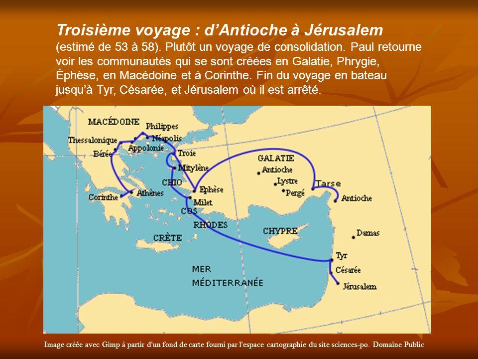 Dernier Voyage, appelé aussi voyage de la captivité De Césarée, Paul est embarqué pour Malte, où il fait naufrage.