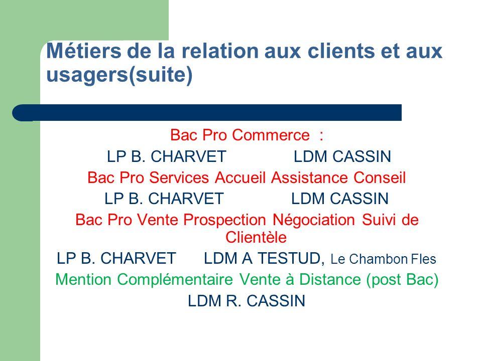 Métiers des services administratifs Bac Pro Secrétariat LP B.