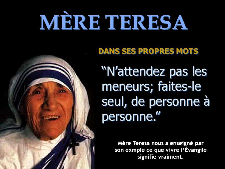 Click Tribut à Mère Teresa 1910 - 1947