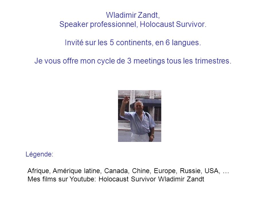pour en savoir plus sur Google: Association of Holocaust Organizations (5 continents), Home About AHO - Members Directory affiliated Members Archives Traveling Exhibits GEOGRAPHICAL INDEX OF MEMBER ORGANIZATIONS 28 pays différents sur ce site: http://www.ahoinfo.org/omebout AHOembers Directoryffiliated Membersrchivesraveling Exhibits http://www.ahoinfo.org/