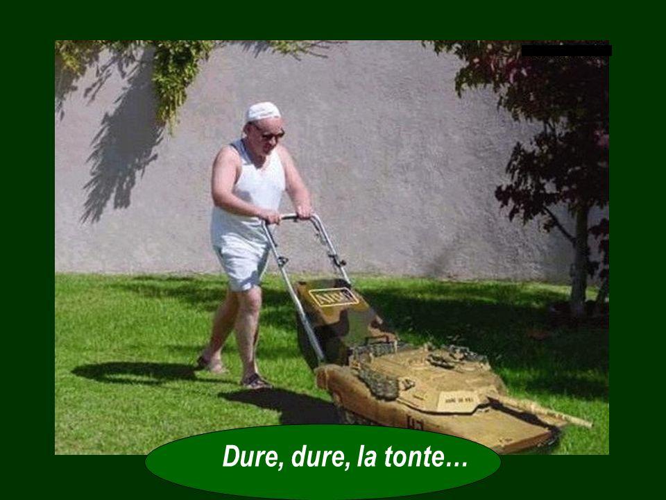 - Apparemment, Seigneur, ils dépensent beaucoup dargent et dénergie pour faire pousser ce gazon et le maintenir vert. Ils commencent par appliquer des