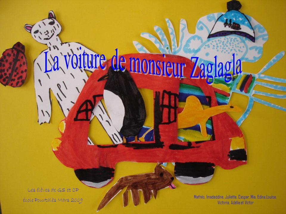 Les élèves de GS et CP école Pourtalès Mars 2009 Mathéo, Imadeddine, Juliette, Caspar, Mia, Edina,Louise, Victoria, Adélie et Victor