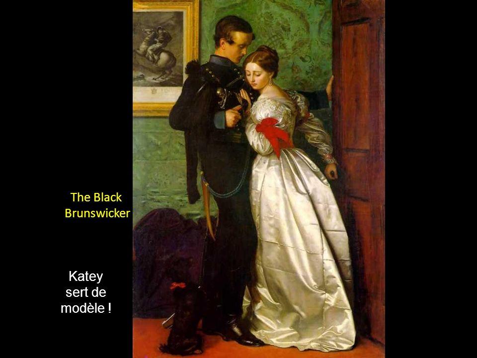 A remarquer la minutie des détails Katey, fille de Charles Dickens