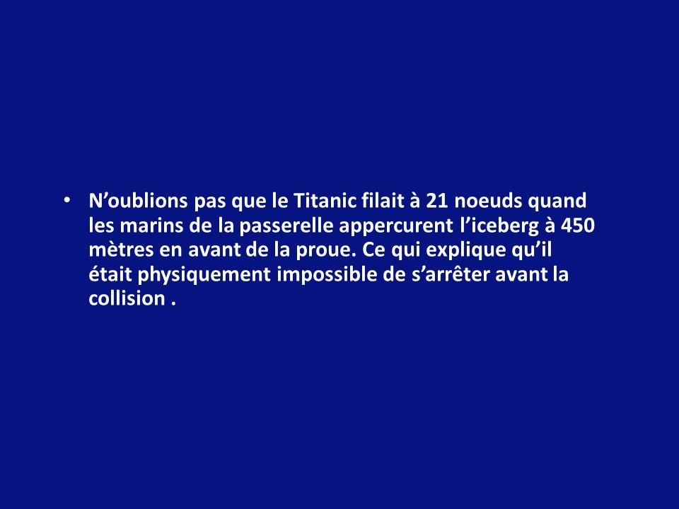 Le 2 Avril, à 06.00 heure, les essais en mer commencent.