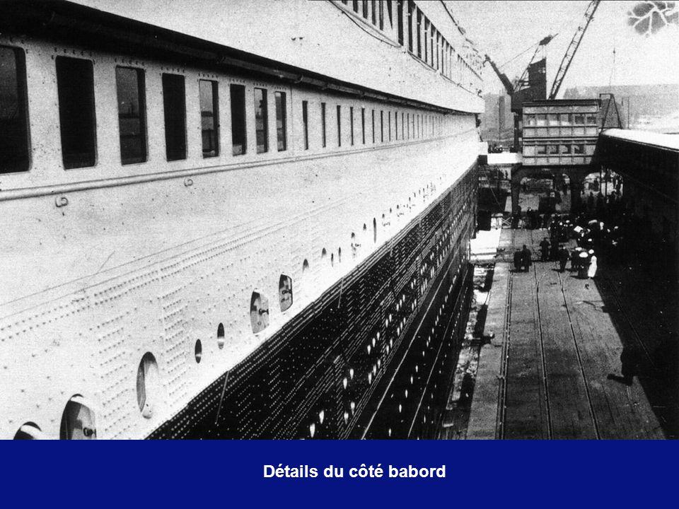Details du côté tribord