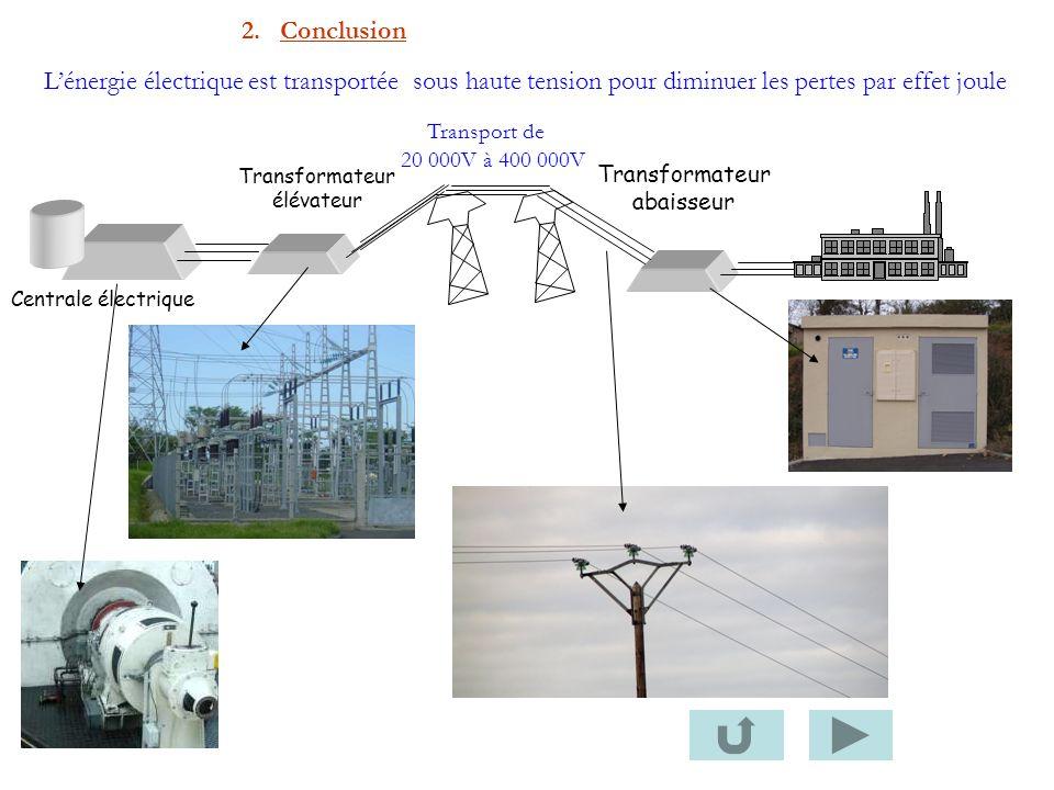 Transformateur abaisseur Centrale électrique Transformateur élévateur Transport de 20 000V à 400 000V Lénergie électrique est transportée sous haute t