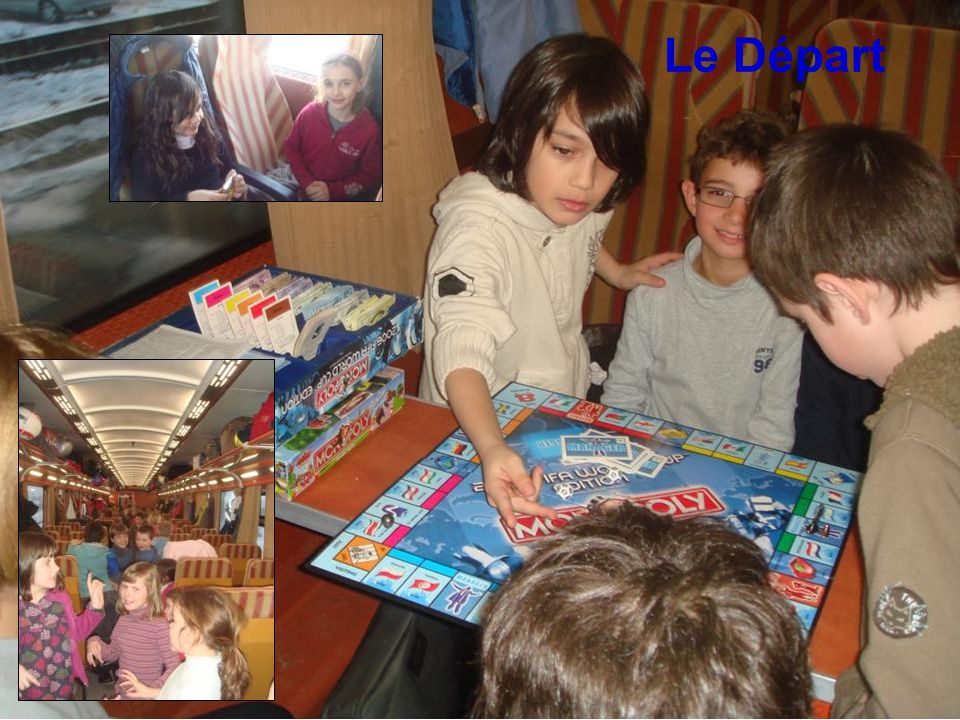 Le train Le Départ