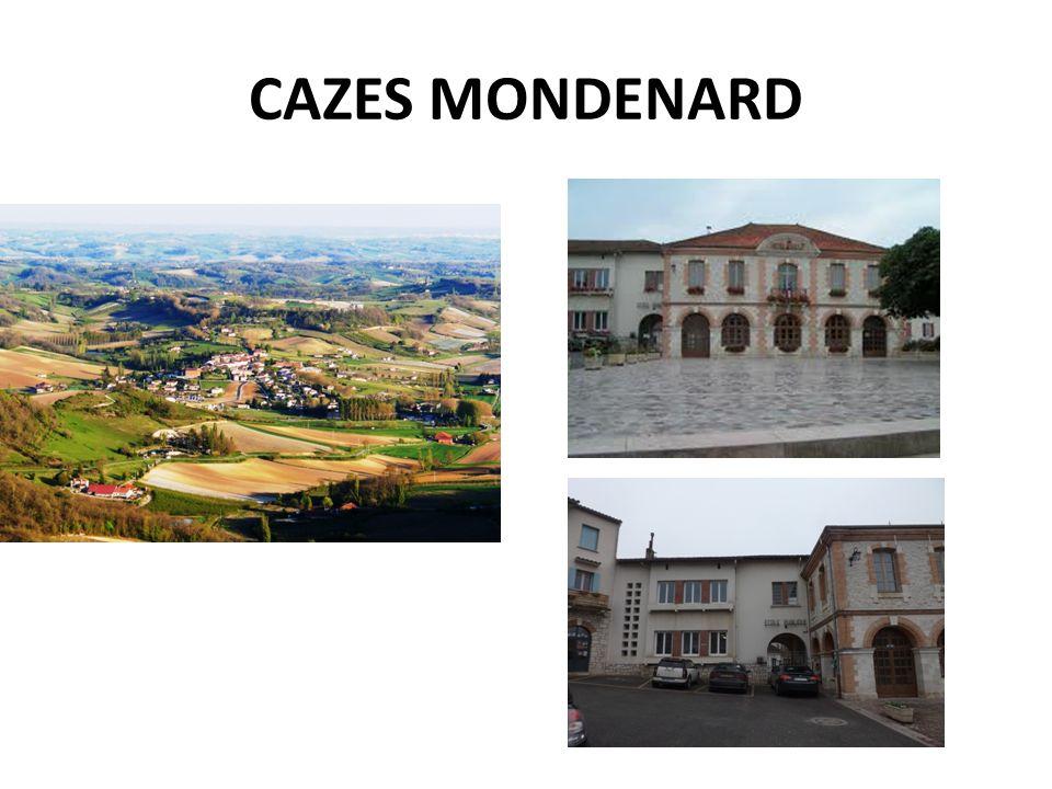 CAZES MONDENARD