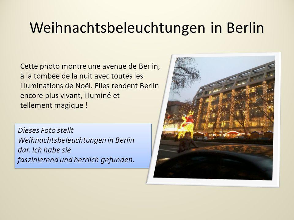 Weihnachtsbeleuchtungen in Berlin Dieses Foto stellt Weihnachtsbeleuchtungen in Berlin dar.