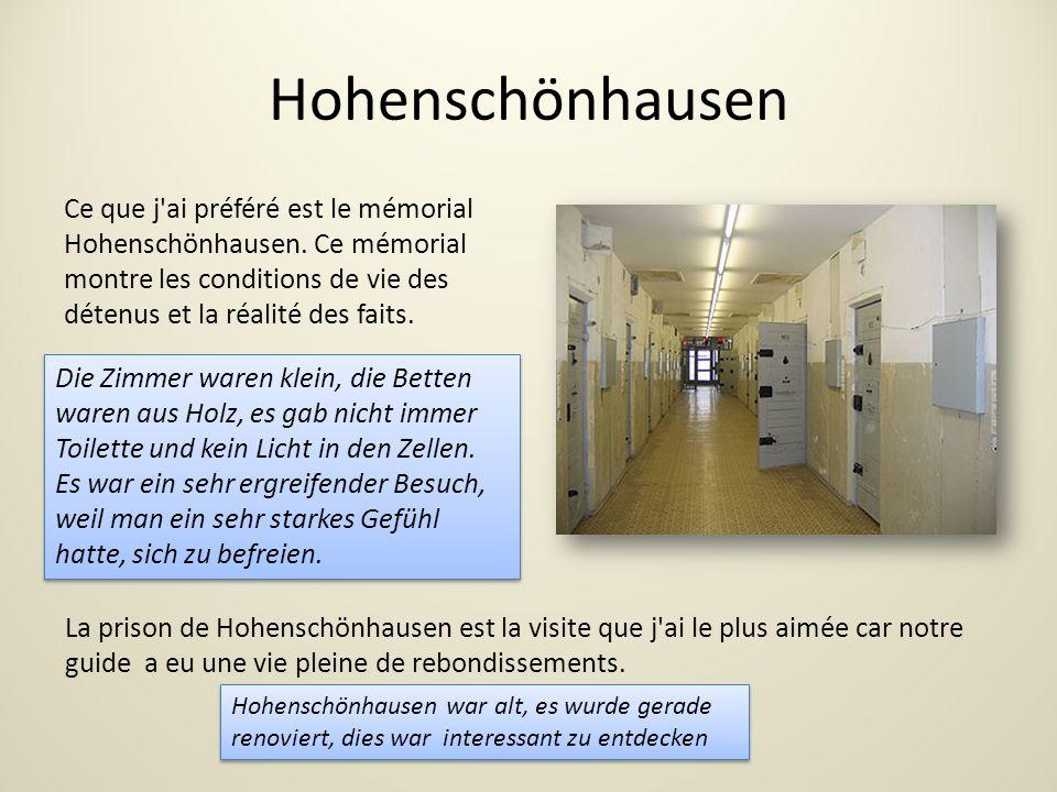 Hohenschönhausen Ce que j ai préféré est le mémorial Hohenschönhausen.