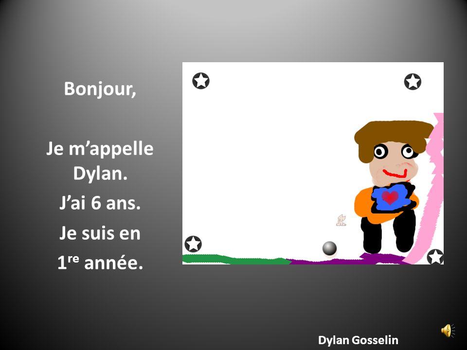 Jérémy Mathieu Bonjour, Je mappelle Jérémy. Jai 6 ans. Je suis en 1 re année.