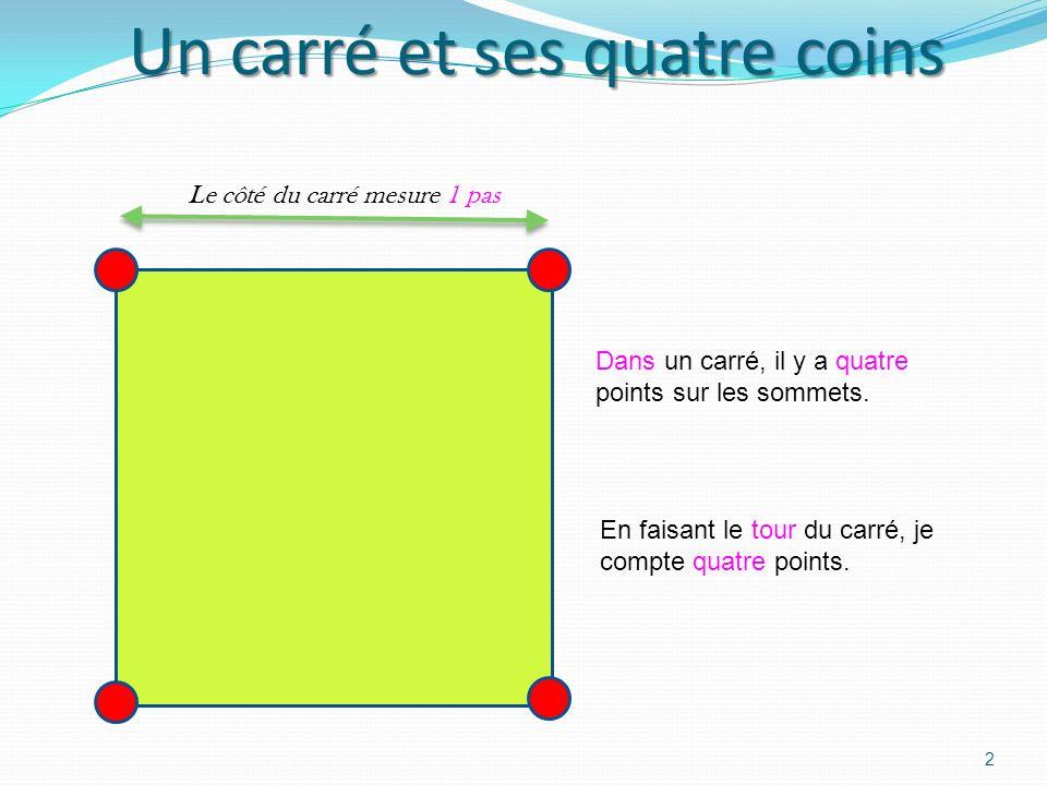 Par Alexis en vacances sur la Côte dAzur Le 17 Avril 2012 1 Je dessine des points ou des carrés alignés en rangées. Quand il y a beaucoup de points, a