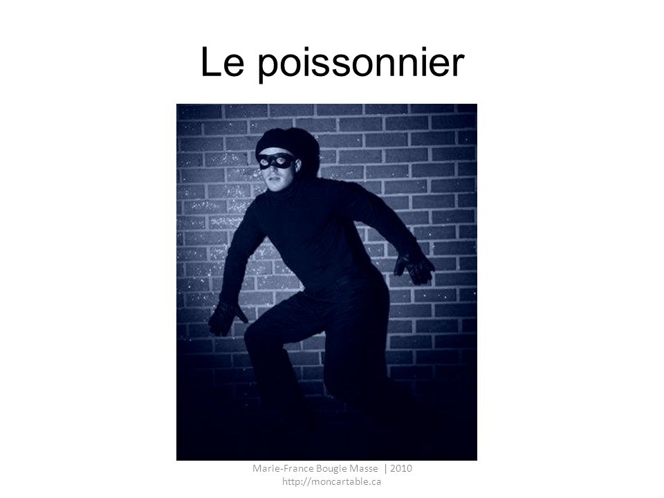 Le poissonnier Marie-France Bougie Masse | 2010 http://moncartable.ca