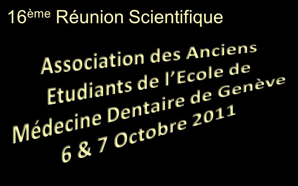 16 ème Réunion Scientifique