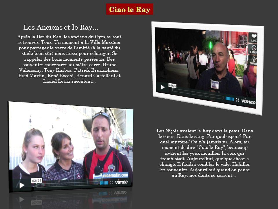 Les Anciens et le Ray...Après la Der du Ray, les anciens du Gym se sont retrouvés.