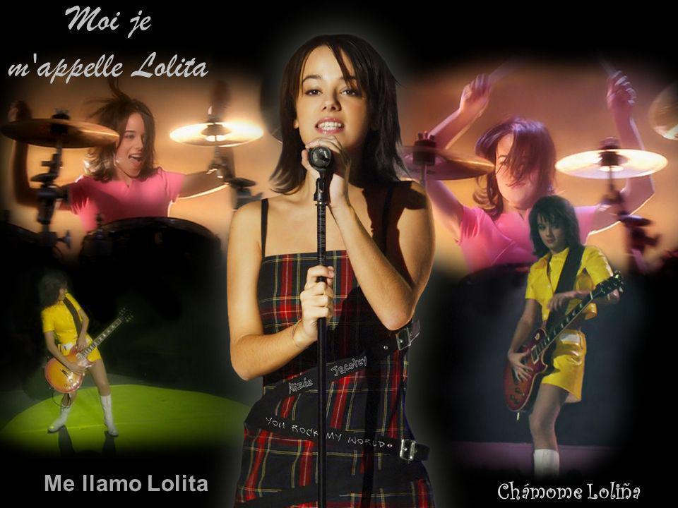 Lo ou bien Lola du pareil au même moi, je m appelle Lolita Lo ou ben lola, é o mesmo, chámome loliña Lo o solo Lola Es lo mismo, me llamo Lolita.
